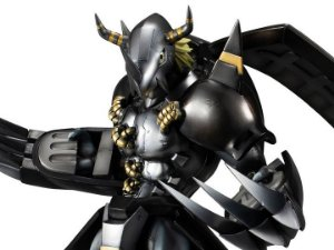 Black WarGreymon Digimon Adventure 02 Precious G.E.M. Series MegaHouse Original