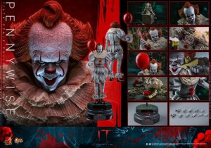 Pennywise IT Capítulo II Movie Masterpiece Hot Toys Original