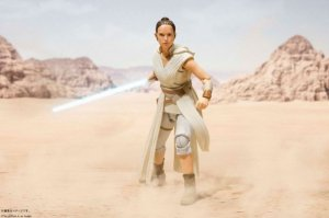 Rey & D-O Star Wars Episódio IX A Ascensão Skywalker S.H. Figuarts Bandai Original