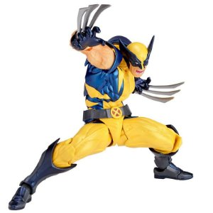 Wolverine X-Men Figure Complex Amazing Yamaguchi No.005 Revoltech Kaiyodo Original