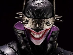 The Batman Who Laughs Dc Comics Noites de Trevas: Metal Artfx Kotobukiya Original