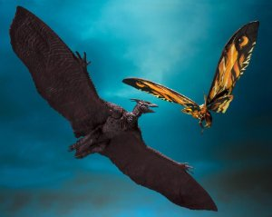 Mothra & Rodan Godzilla King of Monsters 2019 S.H. MonsterArts Bandai Original
