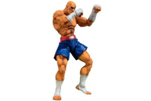 Sagat Street Fighter V S.H. Figuarts Bandai Original