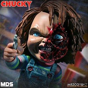 Chucky Deluxe Edition Mezco Designer Series Stylized Mezco Toyz Original
