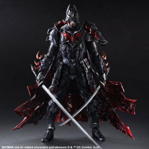 Batman Timeless Bushido Play Arts Kai Variant Square Enix Original