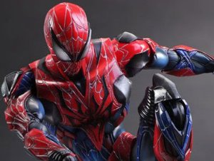 Homem Aranha Marvel Comics Variant Play Arts Kai Square Enix Original