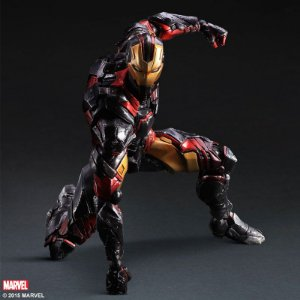 Homem de Ferro Marvel Comics Play Arts Kai Square Enix Original