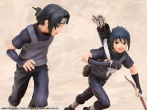 Itachi Uchiha & Sasuke Naruto Shippuden G.E.M. MegaHouse Original