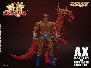 Ax Batter e Red Dragon Golden Axe Storm Collectibles Original