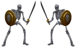 Skeleton Golden Axe Storm Collectibles Original