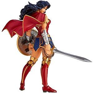 Mulher Maravilha DC Comics Figure Complex Amazing Yamaguchi No.017 Revoltech Kaiyodo Original