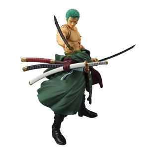 Roronoa Zoro Renewal Edition One Piece Variable Action Heroes Megahouse Original