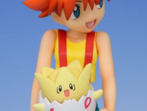 Misty & Togepi & Psyduck Pokemon G.E.M. Series Megahouse original