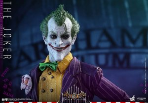 Coringa Arkham Asylum Video Game Masterpiece Hot Toys Original