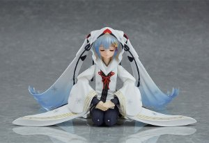 [Exclusiva] Hatsune Miku Snow Wonder Festival 2018 Winter Crane Priestess Ver. Vocaloid Max Factory Figma Original