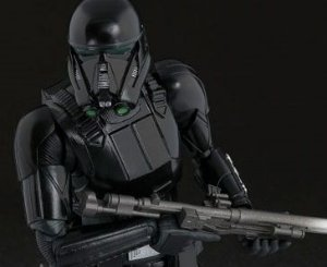 Death Trooper Rogue One Uma história Star Wars S.H. Figuarts Bandai Original
