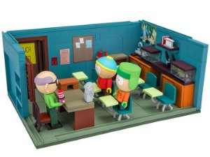 Cartman Kyle e Mr. Garrison Classroom South Park Comedy Central McFarlane Toys Original