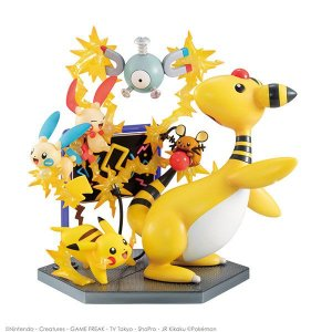 Pokémons elétricos Electric Power! Pokemon G.E.M. EX Megahouse Original