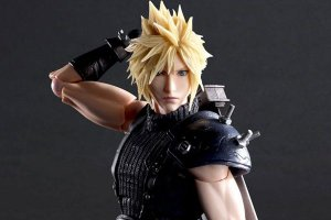 Cloud Strife versão II Final Fantasy VII Remake Play Arts Kai Square Enix Original