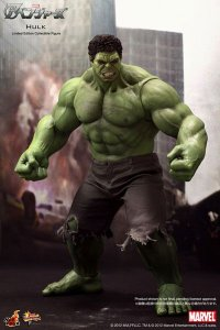 Hulk Vingadores Movie Masterpiece Hot Toys Original