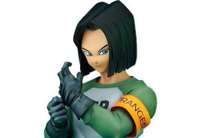 Android 17 Dragon Ball Super Gigantic Series Bandai Original