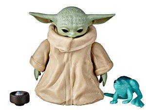 Baby Yoda Star Wars O Mandaloriano Black Series Hasbro Original