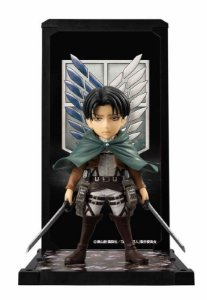 Levi Ackerman Attack on TItan Tamashii Buddies Bandai Original