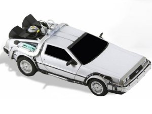 Delorean Time Machine De volta para o futuro Ultimate Neca Original