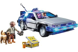 Delorean Time Machine De volta para o futuro Playmobil Original