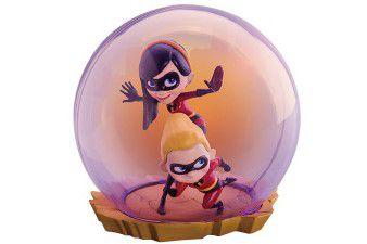 Violet e Dash Os Incriveis Mini Egg Attack Series Beast Kingdom Original