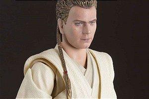 Obi-Wan Kenobi Star Wars Episódio I A ameaça fantasma S.H. Figuarts Bandai Original