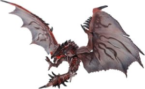 Rathalos Monster Hunter World Iceborne S.H. MonsterArts Bandai Original