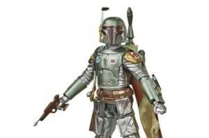 Bobba Fett Carbonizado Star Wars 40 anos The Black Series Hasbro Original
