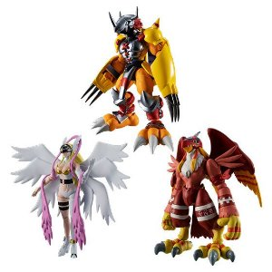 Digimon Pack 1 Shodo Bandai Original