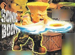 Guile Street Fighter II T.N.C Big Boys Toys Original