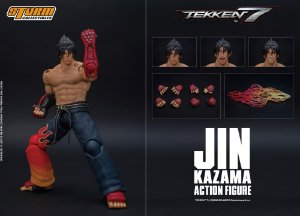 Jin Kazama Tekken 7 Storm Collectibles Original