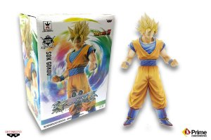 [ENCOMENDA] Goku Super Sayajin Dragon Ball Master Stars Piece King of Coloring Tenkaichi color vers. Banpresto Original