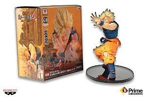 Goku Super Sayajin Banpresto Scultures #4 Tenkaichi Budoukai Original