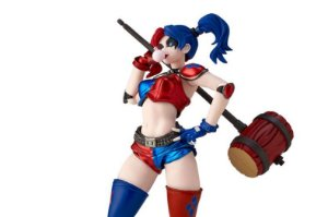 Harley Quinn Red x Blue Twin-tail .ver Dc Comics Figure Complex Amazing Yamaguchi No.015EX-2 Revoltech Kaiyodo Original