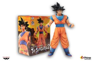 Son Goku 25cm Dragon Ball Master Stars Piece Banpresto Original