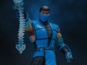 [Exclusivo] Sub-Zero Mortal kombat 3 Storm Collectibles Original