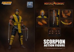 [Exclusivo] Scorpion Mortal kombat Storm Collectibles Original