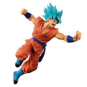 Goku Super Sayajin God Dragon Ball Z Scultures Tenkaichi #5 Special Banpresto Original 10cm