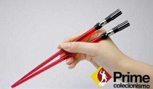 Hachi Star Wars Darth Vader LighSaber ChopSticks Kotobukiya Original