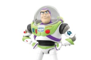 Buzz Lightyear Toy Story 4 Plastic Model Bandai Original