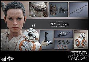Rey & BB-8 Star Wars O despertar da Força Movie Masterpiece 337 Hot Toys
