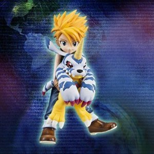 "Yamato Ishida ""Matt"" & Gabumon G.E.M. Series Digimon Adventure Megahouse Original"