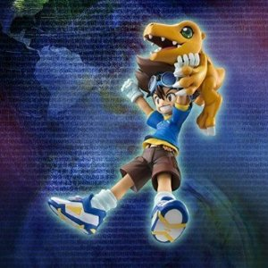 "Taichi Kamiya ""Tai"" & Agumon G.E.M. Series Digimon Adventure Megahouse Original"
