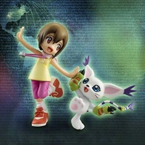 "[ENCOMENDA] Hikari Yagami ""Kari"" & Tailmon G.E.M. Series Digimon Adventure Megahouse Original"