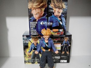 [ENCOMENDA] Future Trunks Super Sayajin Dragon Ball Master Stars Piece Banpresto Original